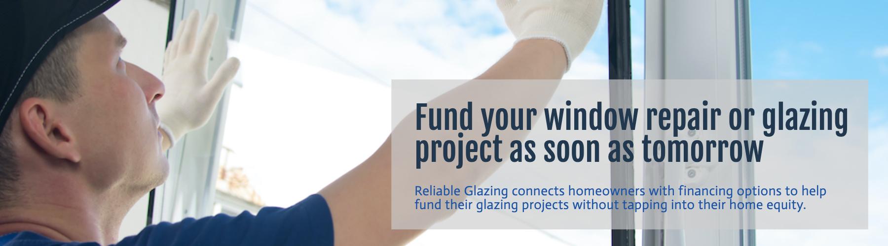 Colorado window repair and glazing financing options